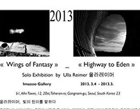 Solo Exhibition Ulla Reimer, Imazoo Gallery, Seoul Sout