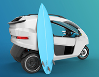 TXe electric vehicle concept