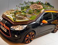 Citroen Rally Diorama - 1:43 Model