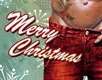 Sexy Santa Christmas Card