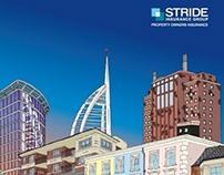 Stride Insurance: BIBA Event branding