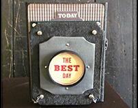 Old Vintage Camera Album