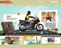 Hero Honda – Website