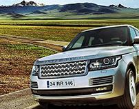 Range Rover Evoque Concept Manipulation