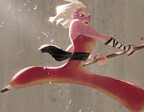 Character Design Challenge - Shaolin Monk
