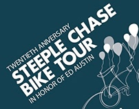 Steeple Chase Bike Tour Poster