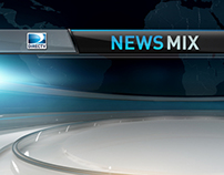 DirectTV News and Sports Mix Redesign at Cake Studios