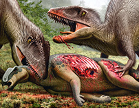Spinosaurus & Carcharodontosaurus