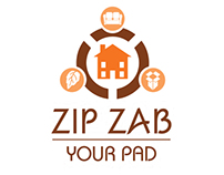 ZipZab Your Pad - Logo and Letterhead