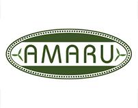 Amaru Logo & Product Label Designs