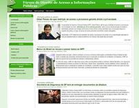 Site: Fórum de Direito de Acesso à Informação