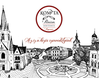Kométa packaging redesign