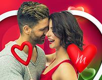 Campanha Dia dos Namorados Marajá