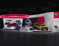 NISSAN BOOTH VMS 2018 CONTCEP 1