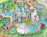 Disney map working files
