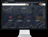 O3PR web page redesign concept