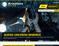 Kreators - Games / Animes Blog
