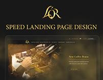 L'OR landing page 2hours design (ENG)