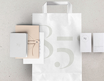 85° PARIS Logo + packaging design