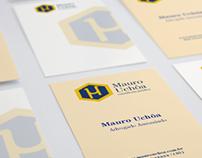 Identidade Visual - Mauro Uchôa