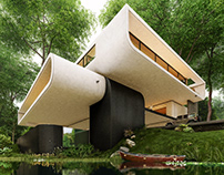 Rico Villa in San Sebastián, Spain by Didformat Studio