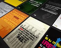 8 Citations | Typographie