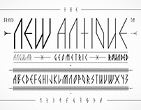 The New Antique — Typeface