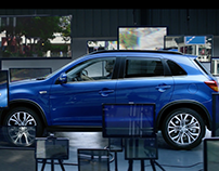 Mitsubishi ASX - Escape Your Virtual Life.