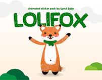 Lolifox animated sticker