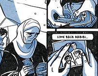 UNSETTLED - Refugee Protection Risk comic
