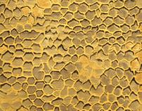 Jacquard Honeycomb Curtain Fabric