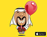 'Khaliji Emoji' iMessage Stickers