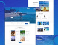 Tour & Travel Agency Landing Page