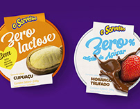 Embalagem para sorvetes Zero Lactose e Zero Açúcar