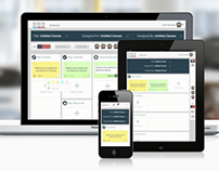 Lienzo web application