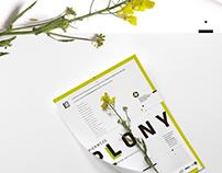 Exhibition branding: Pierwsz Plony