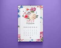 Free Calendar Mockup PSD