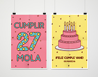 Cumplir 27 mola - Happy bday
