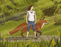 Kate & Milo Journey Through the Realm of Ghibli