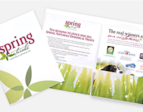 Spring Naturals Sales and Marketing Kit