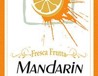 Fresca Frutta Liquor Label Designs (All Natural)