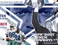 Dallas Cowboys Mural