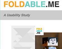 Usability Study - Foldable.me