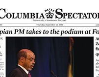 Columbia Daily Spectator -- Pages
