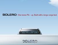 Mahindra Bolero Print Ad