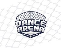 Dance Arena, brand logo design