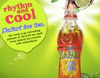 Safari Ice Tea Ad