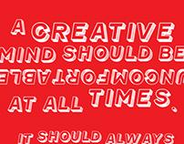Copywriting & Typography