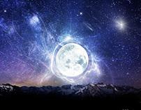 Moon scene