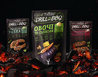 Grill & BBQ — Spice Series Packaging Design